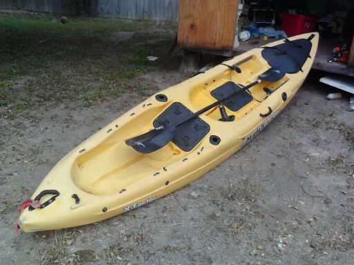 For Sale 15 FOOT MALIBU KAYAKS X-FACTOR KAYAK - $350 (MERCEDES, TX)