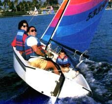 Holder 14 foot Sail Boat by Hobie Cat - $1000 (Brownsville, Texas)