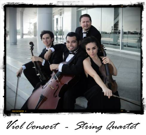 String Quartet Weddings and Social Events  Valleywide