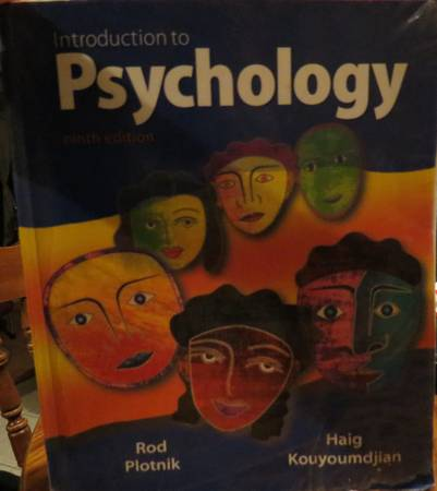 Psychology book for sale -   x0024 60  Weslaco