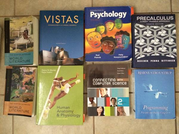 TSTC BOOKS FOR SALE (harlingen)