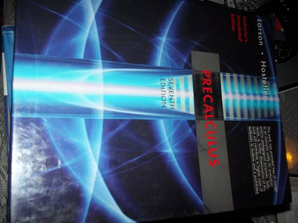 Algebra  Precalculus  amp  Calculus Books for sale -   x0024 30