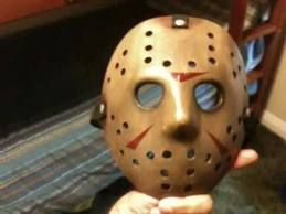 Collectibles JASON friday 13th Hockey masks...made from actual mold (HARLINGEN)