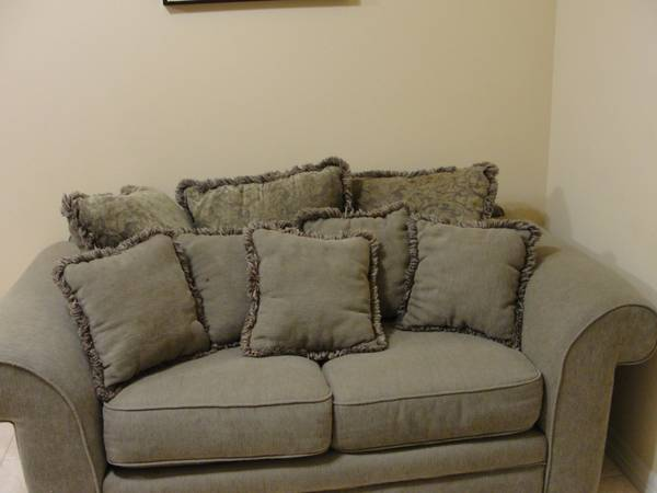 Loveseat from Furniture Row - $110 (Brownsville, Tx.)
