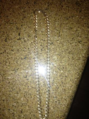 10k yellow gold neckless  -   x0024 950  Valley