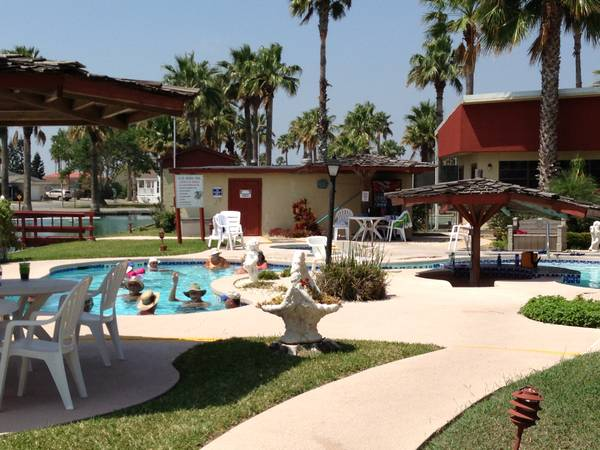 When you find that RV, this is the place to stay. (Winter Haven Resort)