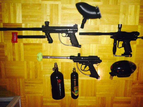3 PAINTBALL MARKERS - x0024200 (los fresnos)