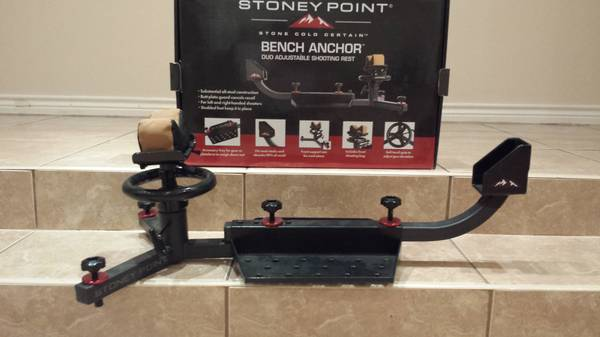 new stoney point adj shooting bench rest - $65 (Brownsville)