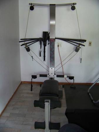 CrossBow 65 exercise (like bowflex) exercise bike - $150 (Browsville)