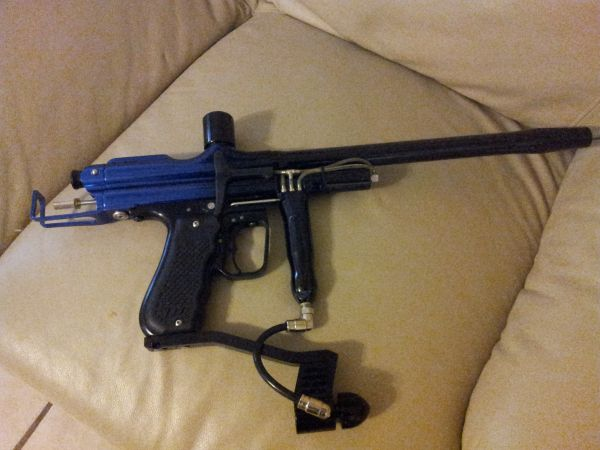 wgp trilogy autococker  electronic paintball marker gun (harlingen tx)