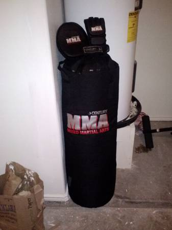 MMA BOXING BAG n GEAR - $70 (brownsville tx)