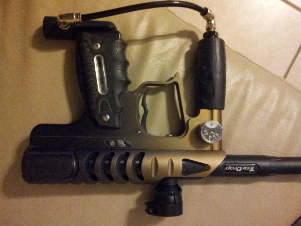 upgraded smart parts ion paintball marker gun (harlingen, tx)