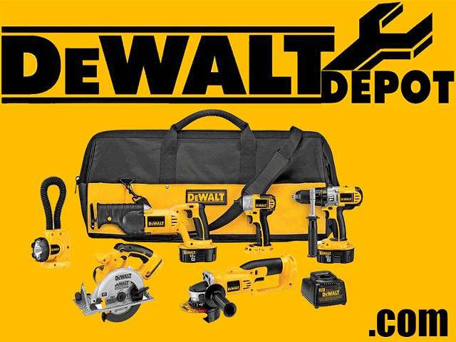 112  DEWALT DCK655X 18-Volt XRP 6 Tool Combo Kit With Impact Driver NEW