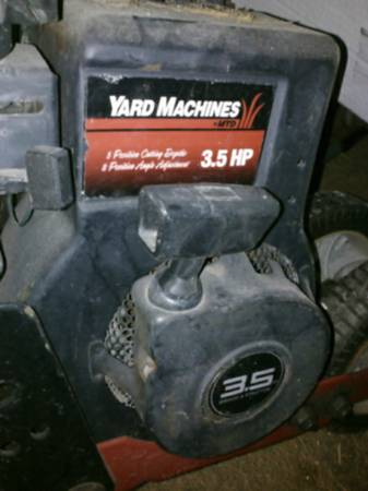 edger 3.5 hp yard machine - $75 (Brownsville )