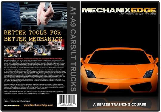 ASE Test Preparation A1-A9 Certification Study Guide CD for Mechanics BECOME ASE CERTIFIED