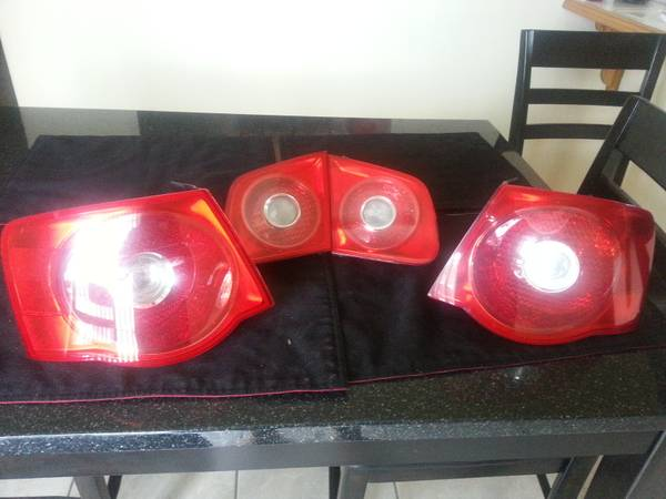 volkswagen tail lights - $140 (san benito)