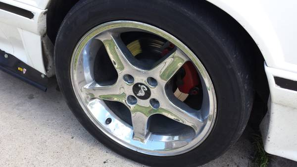 17x9 Cobra R rims (4 lug) - $350 (brownsville)