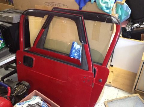 Jeep Wrangler TJ Full Doors - $950 (Brownsville TX)