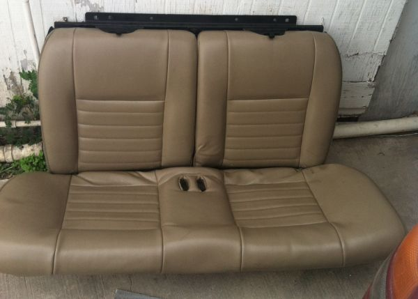 99-04 leather rear seat mustang