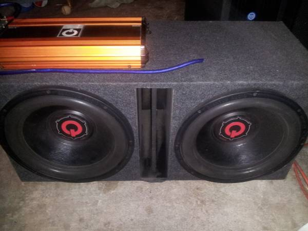 15 subwoofers,,   and capacitor $500 - $500 (brownsville tx)