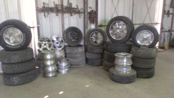 Great Rims at GREAT PRICES ( Harlingen U-Pull)