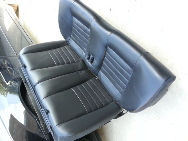 99-04 Mustang leather seats Great cond. - $350 (Los Fresnos)