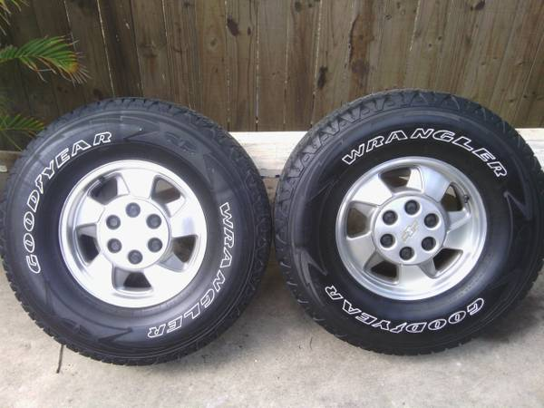 tires 4 sale like new - $500 (1383 dukie dr)