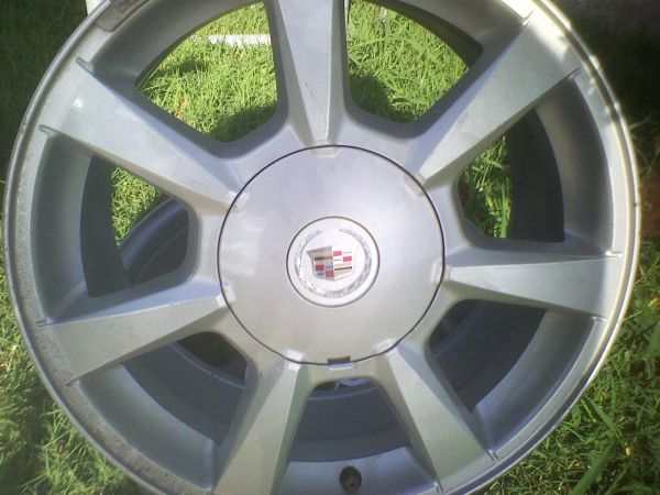 4-17 Cadillac Rims - $225 (Brownsville)