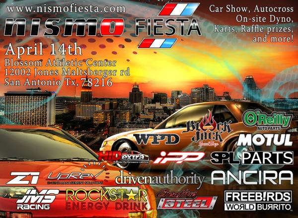 Nismo Fiesta is coming (San Antonio)