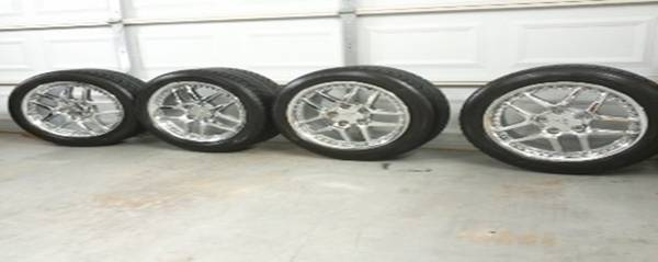 Z06 WHEELS AND TIRES - $1500 (BROWNSVILLE)