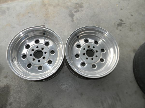 Mustang 4 Lug Rear Draglites - $175 (Harlingen)