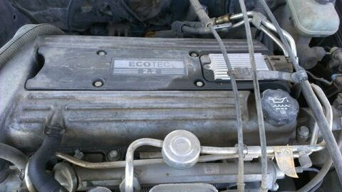 2.2 ECO TEC ENGINE on a 2002 GRAND AM for parts ( Harlingen U-Pull Auto Parts)