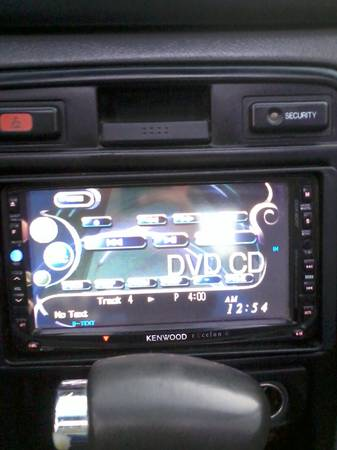 kenwood touch screen car stereo - $250 (brownsville)