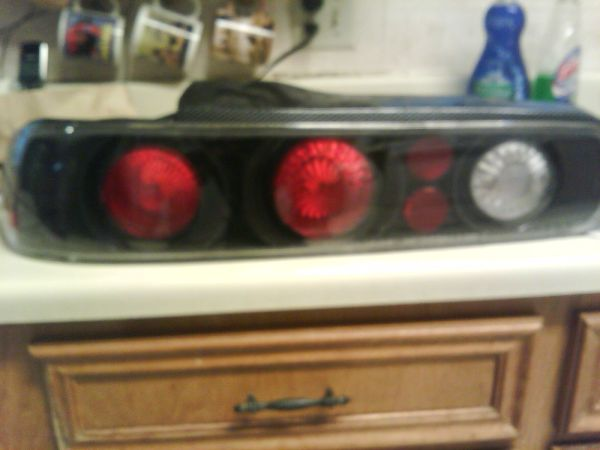 Honda Integra Tail lights Carbon Fiber - $35 (RGV)