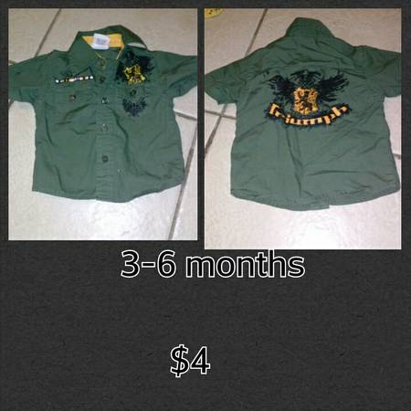 baby boy clothes -   x0024 4  brownsville