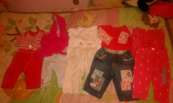 baby girl clothes newborn to 6 months old navy, gap, gymboree,children - $55 (brownsville,tx)