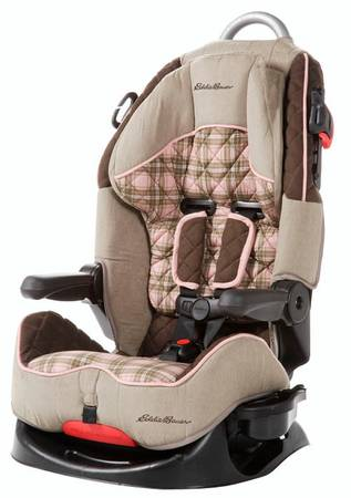 Eddie Bauer Deluxe High Back Booster Car Seat for Baby Girl - $70 (Harlingen)