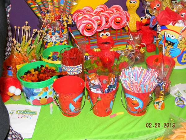 Candy Buffet Tables (Brownsville)