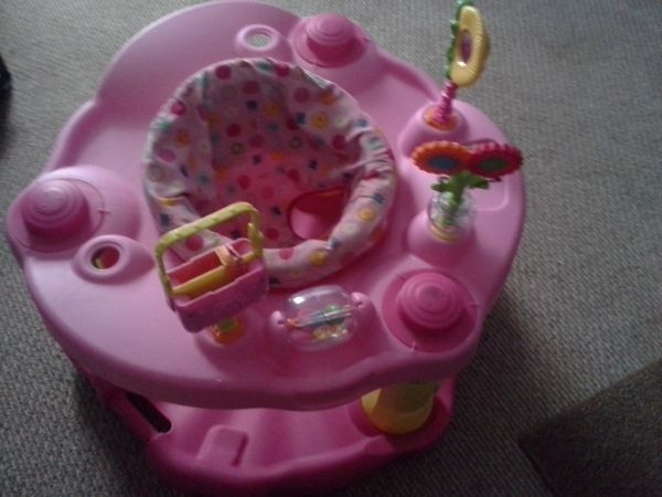 evenflo exersaucer girls tea 123 - $20 (san benito)