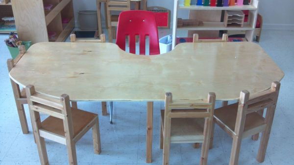 Daycare Kids Furniture Tables Chairs Cubbies and More - $12 (Mid Valley)
