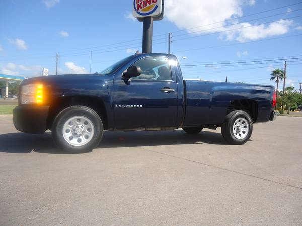 ESPECIAL CHEVY SILVERADO 2008 CAJA LARGA  - $4995 ( WE FINANCE  QUINTEROS MOTORS BVILLE)
