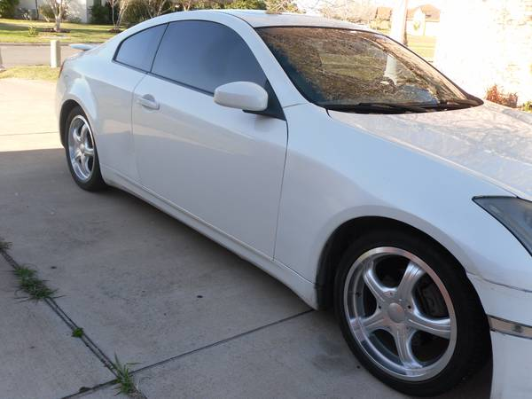 2003 Infiniti G35 Coupe Antera Wheels Leather - $7250 (Brownsville TX )