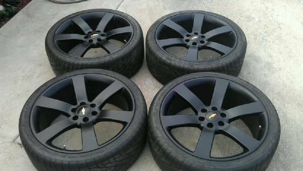 22 Rines Para Chevrolet Tbss NUEVOS Hable 293-0993 - $1350 (Brownsville)