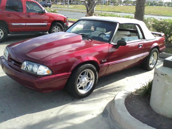 93 MUSTANG 5.0 LX STD,LOTS OF MODS,TRADE FOR 99 UP MUSTANG GTJEEP - $6800 (Brownsville)