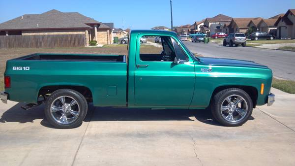 1979 chevy c10 pickup - $12000 (Brownsville, tx)