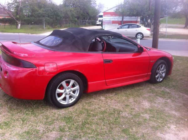 98 mits eclipse auto turbo - $1950 (brownsville tx)