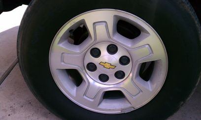chevy rims and tires 17 - $95 (Brownsville,Tx)