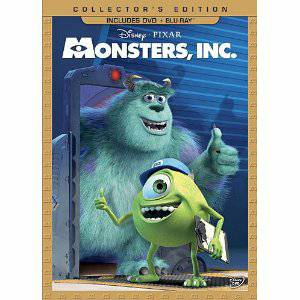 LIKE NEW - MONSTERS INC   BLU RAY and DVD  COLLECTOR S EDITION -   x0024 20  BROWNSVILLE