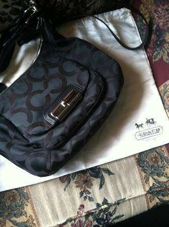 Coach Signature Op Art Kristin Hobo Bag - $150 (Harlingen)