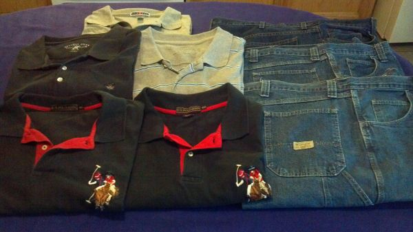 Huge lot of Mens clothes size 4XL3XL (Cheap)